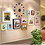 Galleria fotografica X&L parete casella 11 stile europeo legno massello parete 5 pollici 7 pollici 10-inch combinazione soggiorno sala...