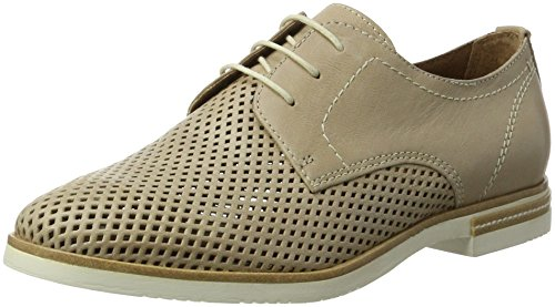 Tamaris 23207, Chaussures Oxford Pour Femme Low Beige (shell 425)