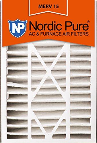 Ofen-air-hepa-filter (Nordic Pure 16x 25x 5abm15–4Merv 15AC Ofen Filter, 4Stück)