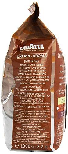 Lavazza Crema e Aroma Coffee Beans 1, 2, 3, 6 x 1kg 516ub2 46 L