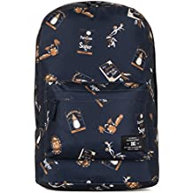 DC Bunker Print Backpack Habana Blue Iris O/S