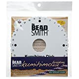 Beadsmith Kumihimo Round Disk with English Instructions, 6-Inch