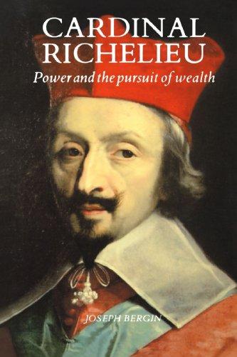 a biography of richelieu a french cardinal