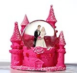 #10: Lilone Valentine Special Pink Couple Fort Dome Showpiece Gift for Birthday, Anniversary, Girlfriend, Boyfriend, Husband and Wife