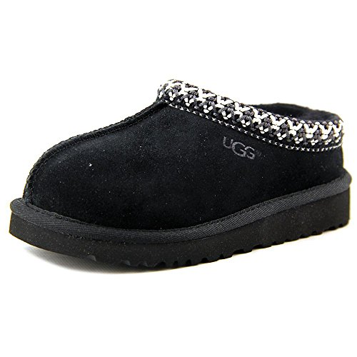 ugg-australia-tasman-youth-us-1-black-slipper