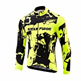UGLYFROG #18 Radsport Trikots Lange Ärmel Sport & Freizeit Shirts Winter with Fleece Style