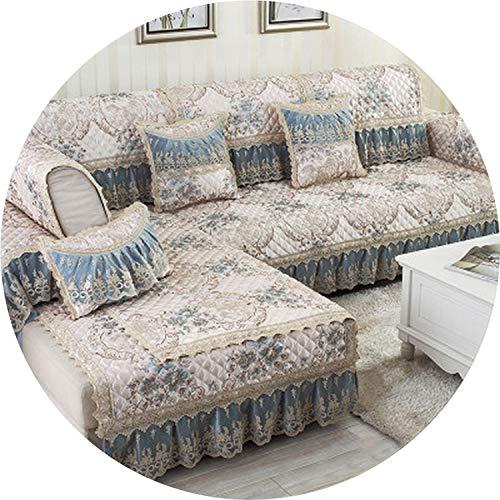 XFkbeA kreative Blumensofabezüge für Schnittsofaabdeckung Universal-Sofaabdeckung L-Form slipcovers Sofa Sofa Möbel Protektoren Dezember, B, 90x210cm