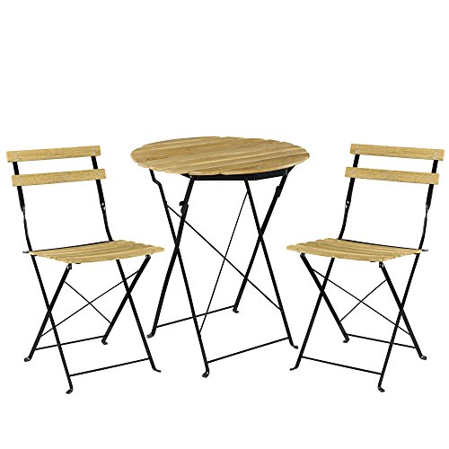 Set 3 piezas de mesa y silla plegables DOMI por 89,99€ - GoChollos