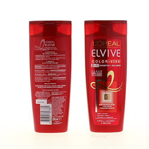 Elvive Shampoo Colorvive 2 In 1 Ml.250