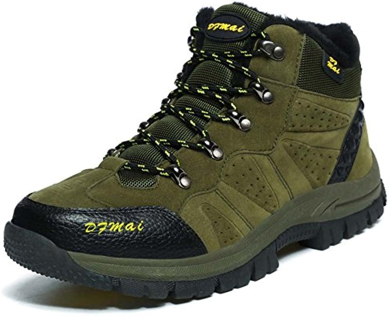 Zapatos Para Escalar al Aire Libre Zapatos para Caminar Impermeables para Hombres