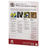 Best Safety Posters - HSE Health and Safety Law Poster PVC Sign Review