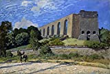 The Poster Corp Sisley: Aqueduct At Marly. /Noil On Canvas Alfred Sisley 1874. Fine Art Print (45.72 x 60.96 cm)