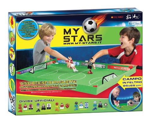 Grandi Giochi GG00124 - My Stars Set Campo da Calcio e Giocatori