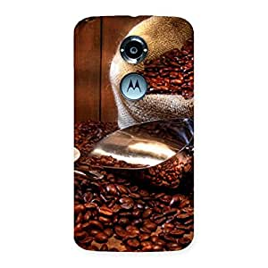Coffee Beans Brown Back Case Cover for Moto X 2nd Gen