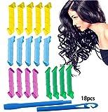 UMIPUBO Bigoudis à Coiffure Sans Chaleur Ne Blesse Rouleaux à Cheveux 30/50Cm pour cheveux longs/boucles larges (30cm 18Pcs)