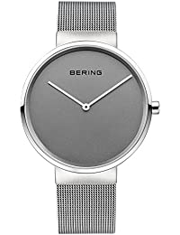 Bering Time Damen-Armbanduhr Fair Novelty Analog Quarz Edelstahl 14539-077