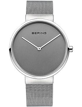 Bering Time Damen-Armbanduhr Fair Novelty Analog Quarz Edelstahl 14539-077