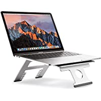 Nllano Soporte Plegable portátil Multifuncional para computadora/Tableta, Soporte Ajustable para portátil de 10-15.6 Pulgadas Macbook, Acer, ASUS, DELL, HP, Lenovo, Toshiba, Gateway, Sony y más.