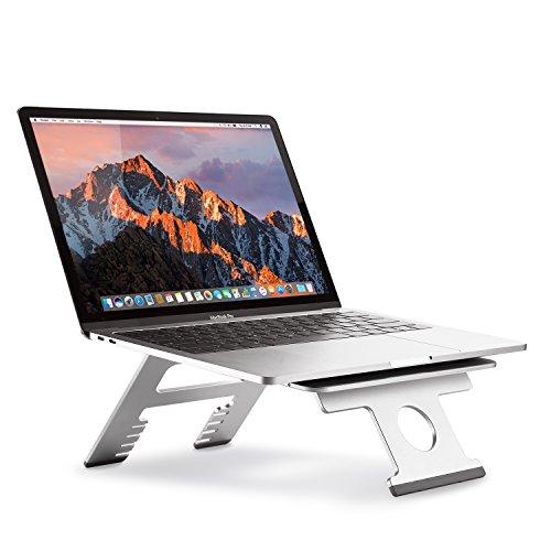 3 - Nllano Soporte Plegable portátil Multifuncional para computadora/Tableta, Soporte Ajustable para portátil de 10-15.6 Pulgadas Macbook, Acer, ASUS, DELL, HP, Lenovo, Toshiba, Gateway, Sony y más.