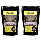 #10: Healthy Feast Natural California Almonds 250 Gm+500 Gm- Pack of 2-(750gm)