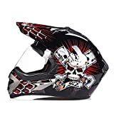 LL Motorrad Full Face Helm Unisex Outdoor Riding Wind-sicher und warm,5,XXL