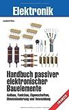 Handbuch passiver elektronischer Bauelemente: Aufbau, Funktion, Eigenschaften, Dimensionierung und Anwendung