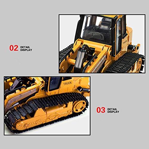 RC Auto kaufen Kettenfahrzeug Bild 4: RC big bagger spielzeug Kinder, Fernsteuerungs Bagger Spielzeug Nachgemachter Großer Bulldozer mit Sound und Licht für Kinder*