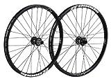 Spank Laufradsatz Spoon32 EVO wheelset 20mm + 12/135mm incl. adapter, black, 26