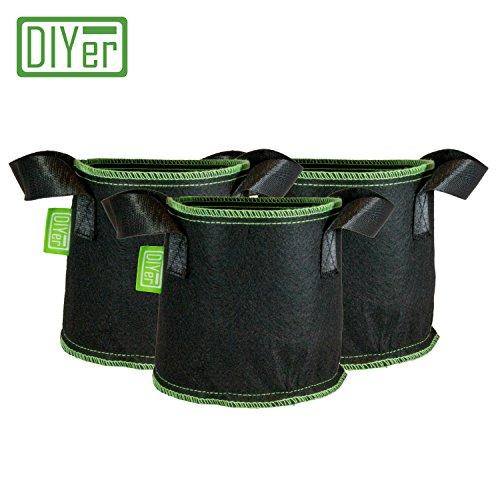 DIYer - Bolsa de Cultivo - Saco de plantar - Maceta de tela - Perfecto