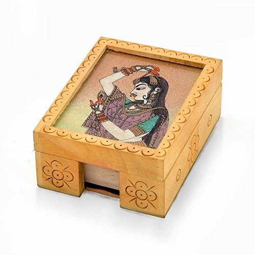 Visiting CardHolder Handmade Office Stationary 361  available at amazon for Rs.269