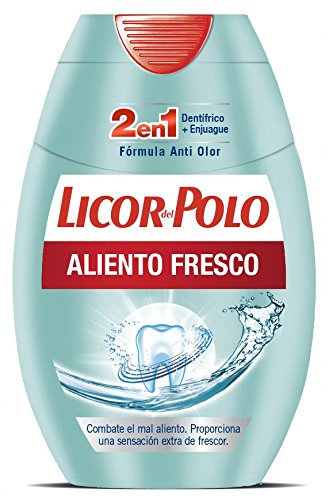 Licor Polo 2 1 Dentífrico + Enjuague Aliento