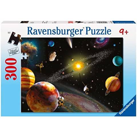 Ravensburger - Puzzle, Sistema solare, 300 pezzi XXL