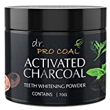 #3: CASA ALLEGRA Dr Procoal Activated Charcoal Instant Teeth Whitening Powder (70 g)