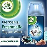 Air Wick Freshmatic Max Nachfüller Tag am Meer automatisches Duftspray, Nachfüller für automatischen Lufterfrischer, 6 x 250ml