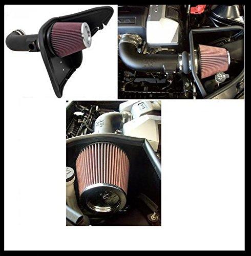 + 19ps Cold Air Kit Chevrolet Camaro 6,2L LS3, LS99, SS anno di costruzione: 10-15