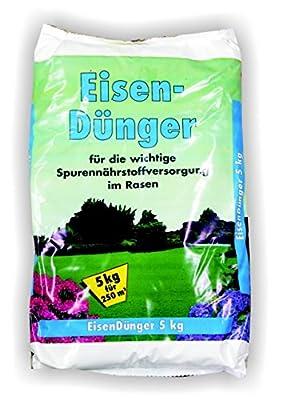 Eisendünger 10kg 2x 5kg Moosentferner Eisen Dünger Sulfatdünger Moos von GPI - Du und dein Garten