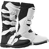 Thor Blitz XP Women Damen Frauen Boots Stiefel Enduro Motocross schwarz Weiss, Größe: Größe 9 (EU 39)
