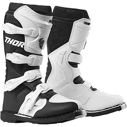 Thor Blitz XP Women Damen Frauen Boots Stiefel Enduro Motocross schwarz Weiss, Größe: Größe 8 (EU 38) (Für Frauen Boot-liner)