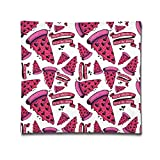 hanbaozhou Kissenbezüge Pizza Fast Food Square Throw Pillow Case Cotton Decorative Pillowcase Cushion Cover for Sofa Bedroom 18