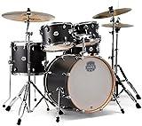 MAPEX ST5045FIK Storm 5-teiliges Fusion Schlagzeug-Set mit Chrom-Hardware, Ebenholzblau