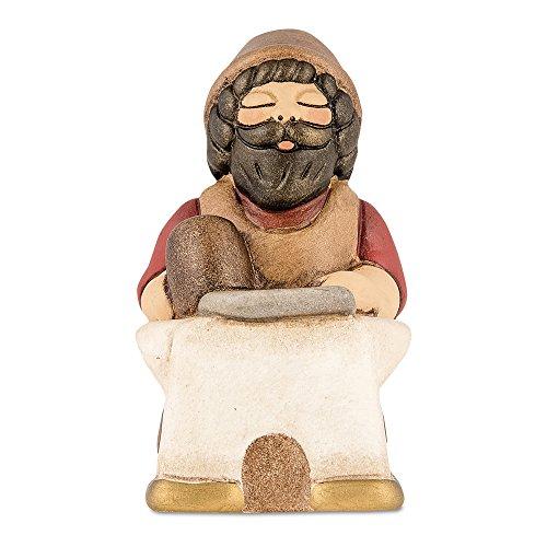Thun maniscalco presepe classico, ceramica, variopinto