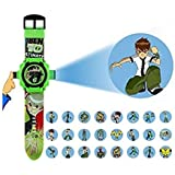 BEN 10 OMNIVERSE AUTOMATIC PROJECTOR 24 CRIDS NO.ZL8524B - Best Digital Toy Watch for Boys
