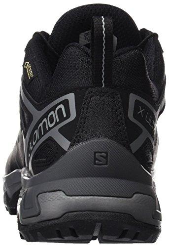 Gtx quiet 3 Trekking Salomon Ultra Schwarz Shade Wanderhalbschuhe magnet Black Herren qFznOnS7t