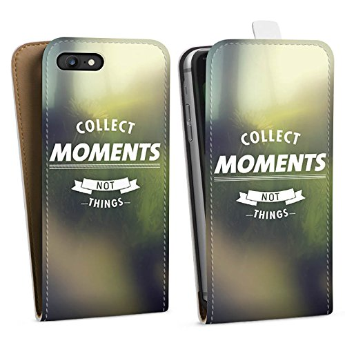 Apple iPhone X Silikon Hülle Case Schutzhülle Moment Sprüche Motivation Downflip Tasche weiß