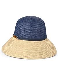 GSAYDNEE Sombreros de Sol de Verano para Mujer Sombrero de ala Ancha para  Arriba Sombrero de Playa (Color   1 4cb23f4094b