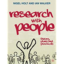 Research With People Theory Plans And Practicals 0