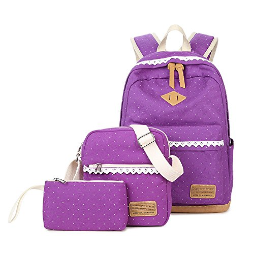 Anne - Borsa a Zainetto donna Purple