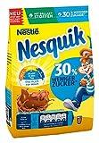 Nestlé NESQUIK, kakaohaltiges Getränkepulver, zuckerreduziertes Kakaogetränk, Kakaopulver mit Vitamin-Mix, Schoko-Fans Großpackung, 14 x 450 g