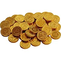 Gold Milk Chocolate £1 Coins (Pack Of 40)
