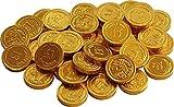 Gold Milchschokolade £1 Münzen (Packung mit 40)